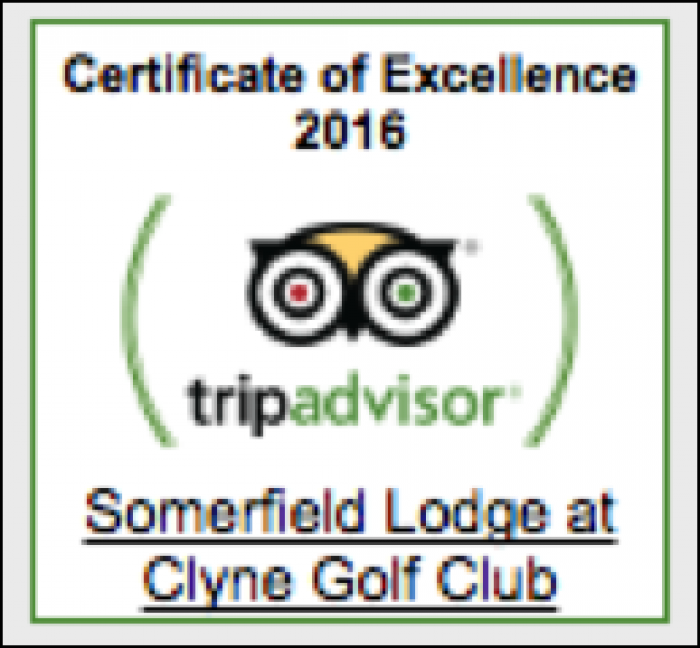 Image for trip advisor award for Somerfield Lodge